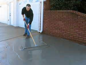 How Repair Pitted Concrete Garage Floor Picture