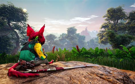 Download Wallpapers Biomutant, 4k, 2018 Games, Action, Rpg