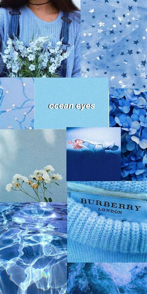techelectronicmn pastel blue flower aesthetic wallpaper