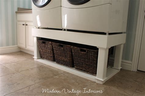 pedestal for washer and dryer laundry room highlight with an awesome link for some