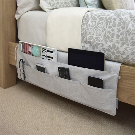 bedside storage ideas stackers bedside caddies the container store