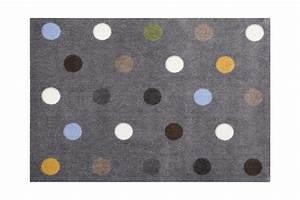 Fußmatte Gift Company : gift company fu matte dots waschbar grau 66x90cm kaufen ~ Watch28wear.com Haus und Dekorationen