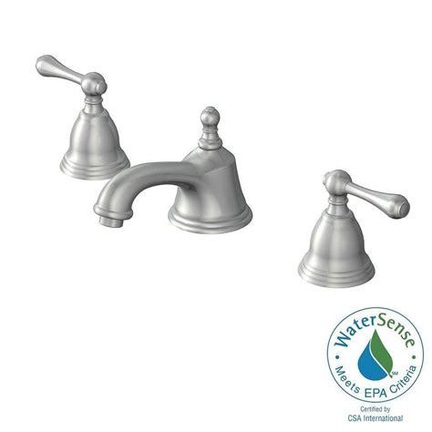 glacier bay 1000 series 8 in widespread 2 handle bathroom