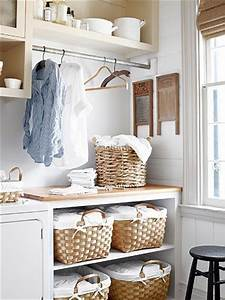 Laundry Room Sorters - Country - laundry room - Country Living