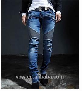 2015 Top Design Custom Unique Fold Men Denim JeanNewest Model Men Jeans PantsZips 5 Pockets ...
