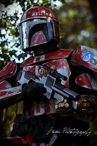 Custom Mandalorian Bounty Hunter on Behance