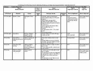 orm worksheet the best and most comprehensive worksheets With usmc orm template
