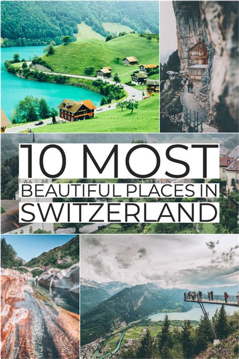 10 Most Beautiful Places In Switzerland Avenly Lane Travel
