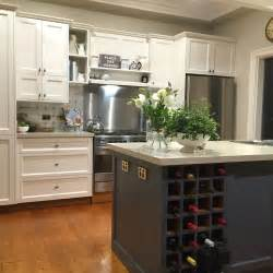 Paint Cupboards Kitchen by Painted Kitchen Project Dulux Antique White Usa On Rear