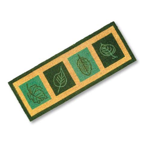 Green Doormat by Green Leaves Doormat Quality Doormats Custom Door Mats