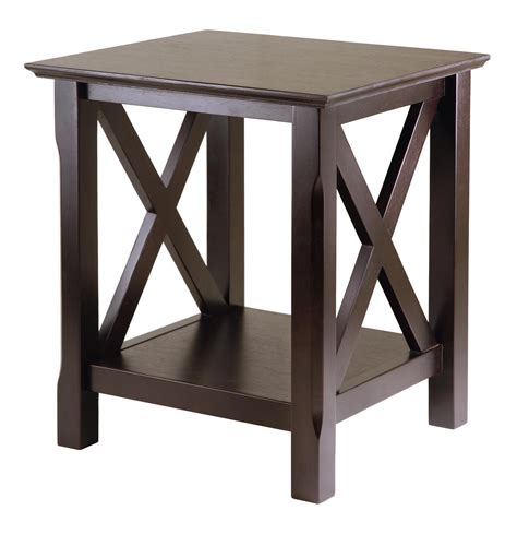 Winsome Xola End Table By Oj Commerce 40420a  $6825. Kitchenette Tables. Ge Refrigerator Drawer Replacement. What Is Bell Desk. Kitchen Drawer Slide Hardware. Electrolux Microwave Drawer. Trunk End Tables. Old Fashioned Drawer Pulls. White And Walnut Desk