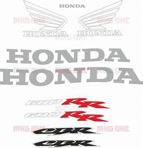 Honda Cbr-600-rr 2003-2004 Side Stickers Set