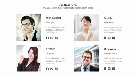 Our Best Team  Powerpoint Templates Youtube