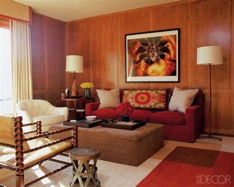 Living Room Wood Paneling Decorating Ideas-coma Frique