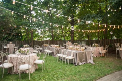 Wedding Reception In Backyard by Backyard Reception