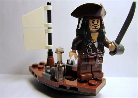 Lego Boat Pirate by The Brick Brown Fox Lego Of The Caribbean 30131