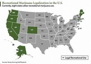 why is marijuana legal in some states