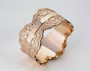rose gold wedding band rose gold band womens wedding band With womens wedding ring