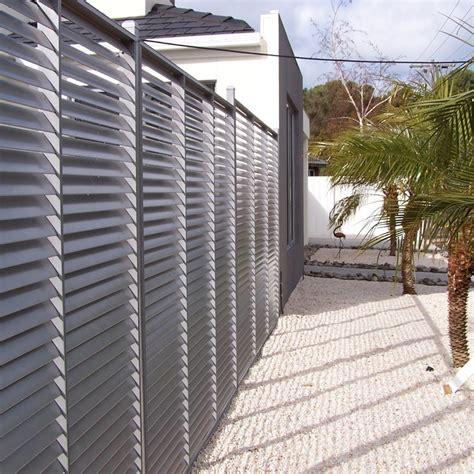 brise vue aluminium le sp 233 cialiste des panneaux claustra