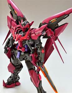 Gundam Family: MG 1/100 Gundam Exia Dark Matter Painted Build