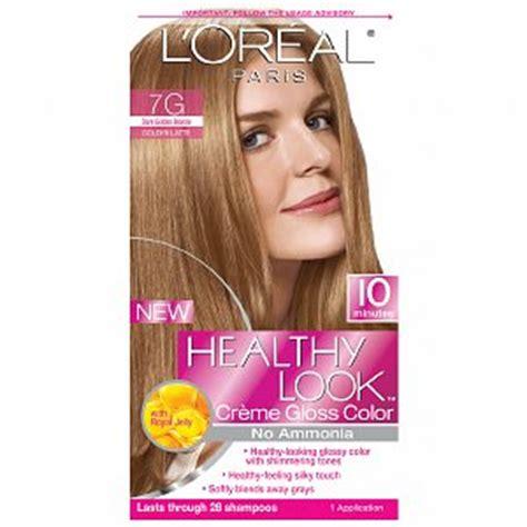 7g hair color healthy look 7g golden golden latte