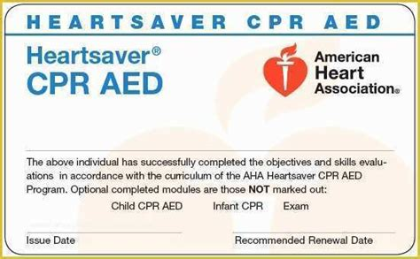 Cardiac arrest vs heart attack infographic. Free Cpr Card Template Of 12 Aha Cpr Card Template Wptej ...