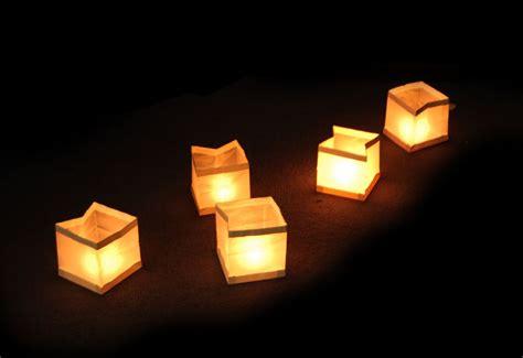 10 floating water lanterns lantern candle tea lights