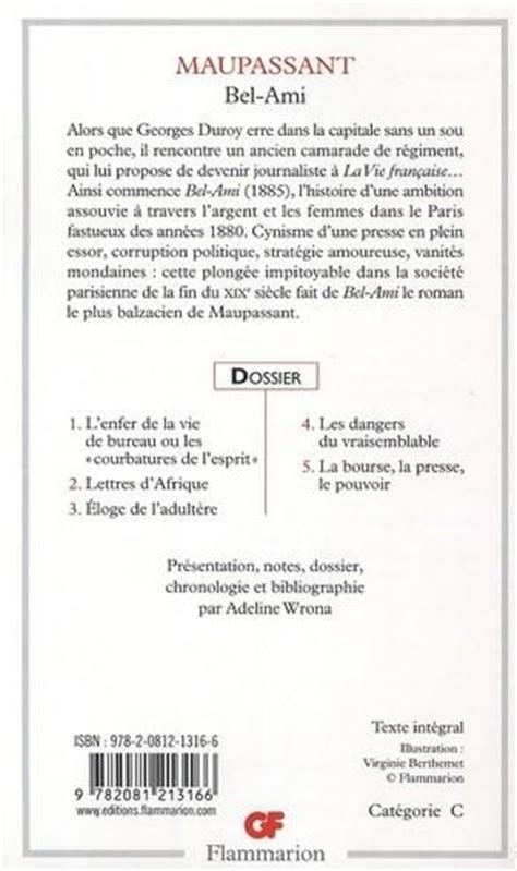 Bel Ami Resume by Resume Chapitre Bel Ami
