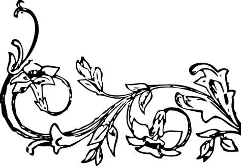 flowervine clip art  clkercom vector clip art