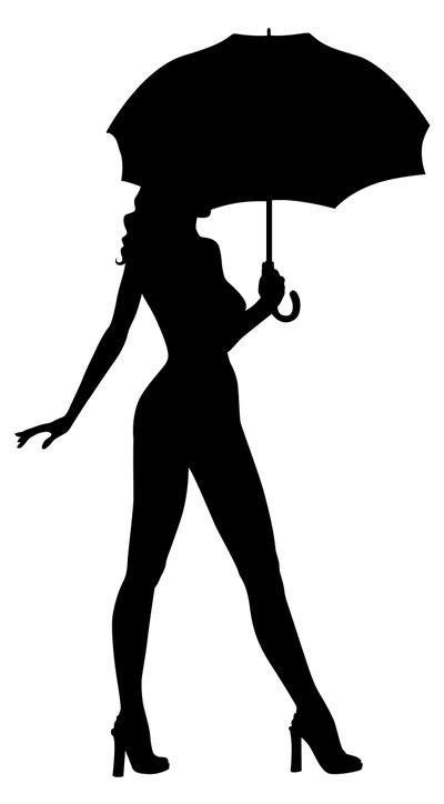 여자 실루엣 | 곡선 | 실루엣 및 스텐실