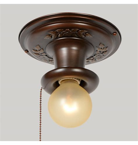 fresh free ceiling light with pull chain 17189
