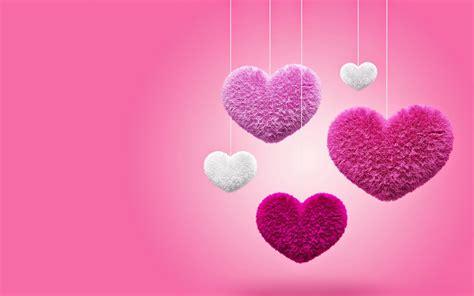 post it bureau mac roze en witte liefdes hartjes stof bureaublad