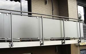Milchglas Für Balkon : balkongel nder balkon edelstahl altenglan kusel kaiserslautern ~ Markanthonyermac.com Haus und Dekorationen