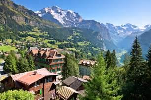 Switzerland Mountain Towns