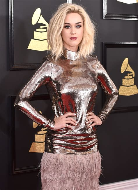 Grammys 2017: Katy Perry's Platinum Blonde Hair Is a ...