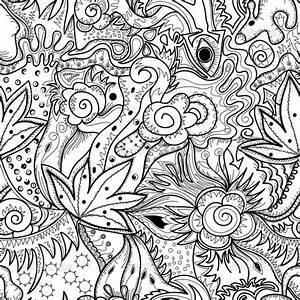 Dibujos abstractos para imprimir y pintar Colorear imágenes