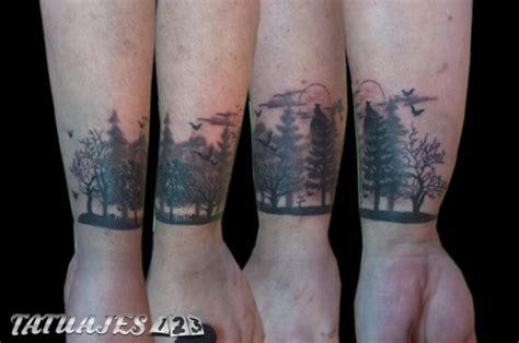 bosque  sombras tatuajes