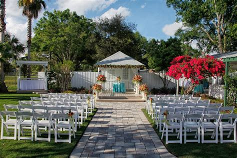 winter park has an affordable wedding venue bungalower