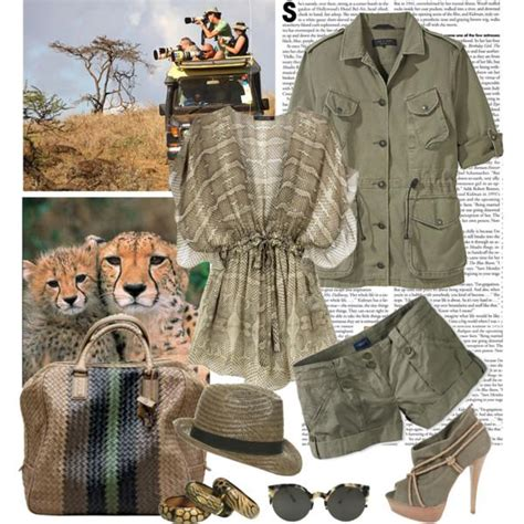 safari inspirational outfits  trendy girls