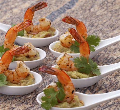canape chesterfild prawn and wasabi guacamole canapés recipe centre