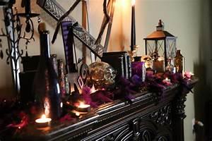 Hair-Raising Halloween Mantel Decorating Ideas - Twin Star