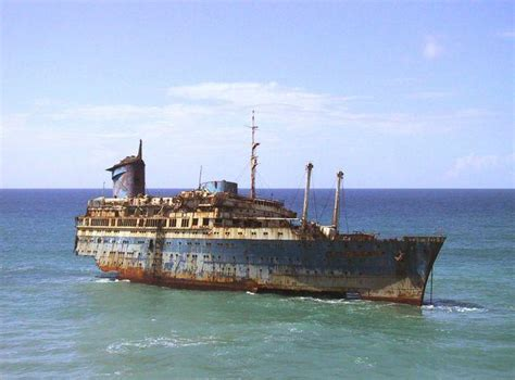Uss America Sinking Location by The Magnificent Wreck Of Ss American Photos