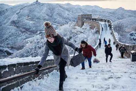 tempat menikmati musim salju  asia  liburan akhir