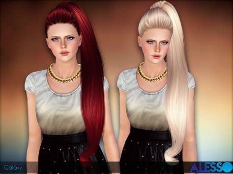 The Sims 3 Divano Ad Angolo : Galaxy (hair