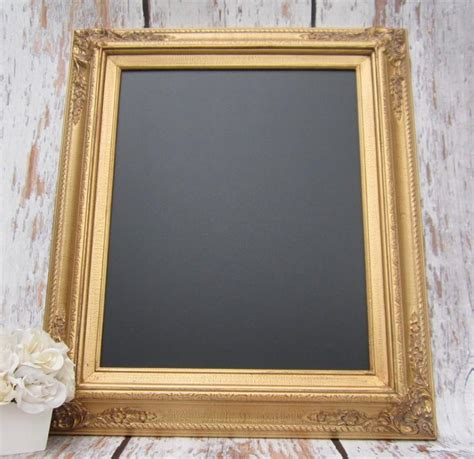 home interior framed gold framed chalkboard kitchen magnetic memo board home