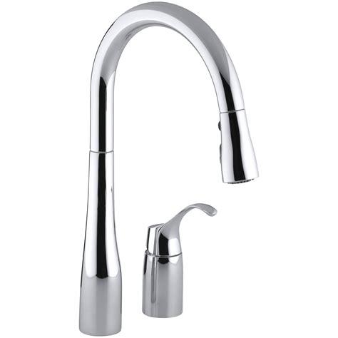 3 hole kitchen sink faucets kohler simplice two hole kitchen sink faucet with 16 1 8