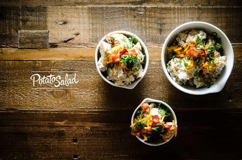 fully loaded baked potato salad recipe    food blog