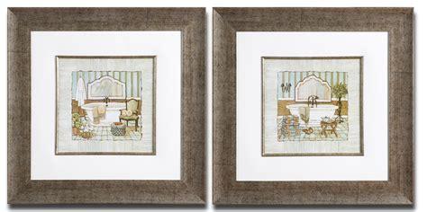 framed art  bathroom french bathroom prints vintage
