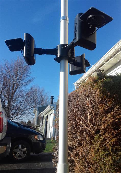 economy polepal solar flagpole light product details