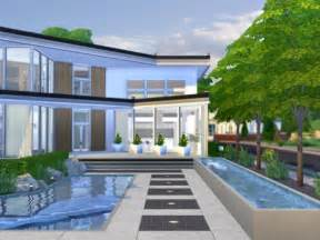 Harmonious Modern Sims Houses by The Sims Resource Xena Modern House By Chemy Sims 4